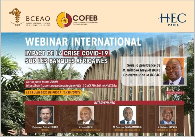 WEBINAR INTERNATIONAL: BCEAO/HEC