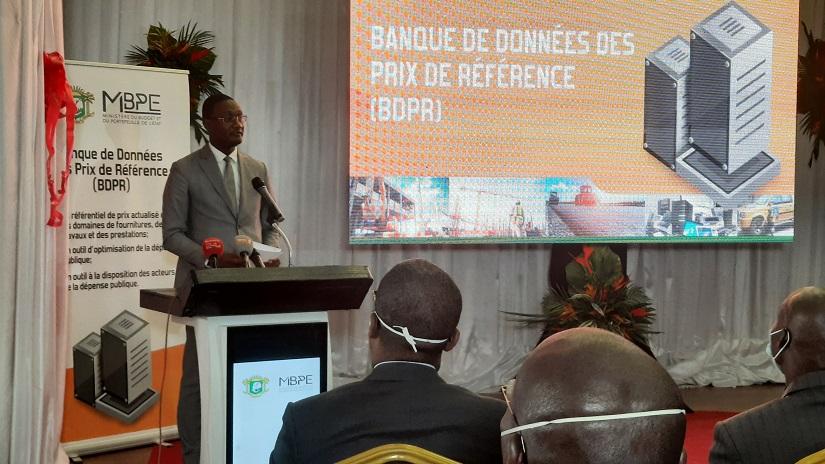 La BDPR est destinée à être un repère pour l'ensemble de l'Administration, pour une bonne maîtrise de l'évolution des coûts...a indiqué Moussa Sanogo.